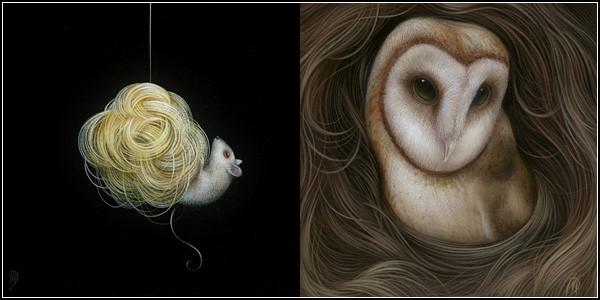 Волны и волосы. Сказочные картины Дэна Мея