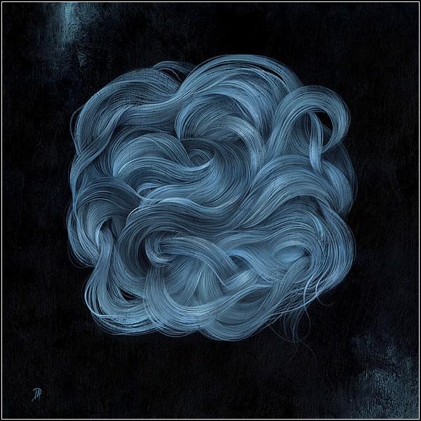Волны и волосы: мечтательные картины Дэна Мея