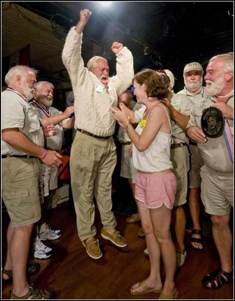 Праздник Хемингуэя: Мэтт ДЖинео празднует победу