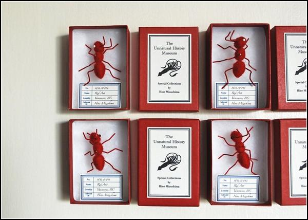 Музей НЕ естественной истории. Плюшевые муравьи