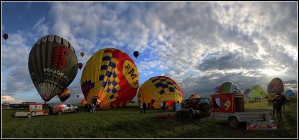 Монгольфьеры на Лотарингском фестивале-2011