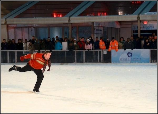 Ледовый перформанс Кенни Моира