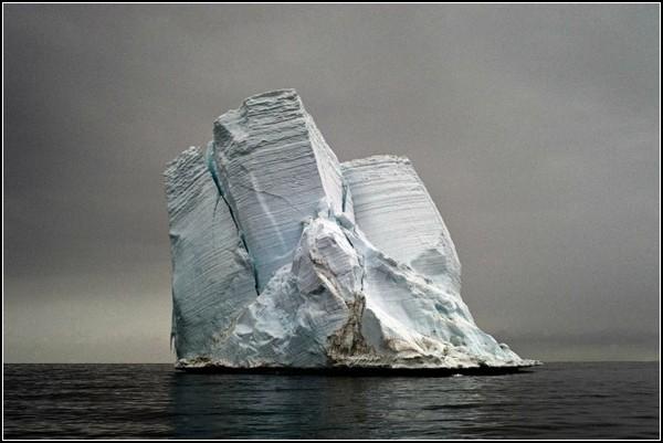 Фото айсбергов Камиллы Симен