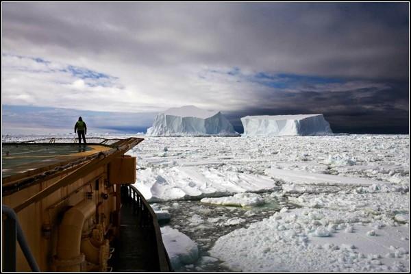Страна айсбергов на фото Камиллы Симен
