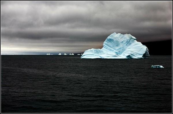 Антарктические фото айсбергов Камиллы Симен