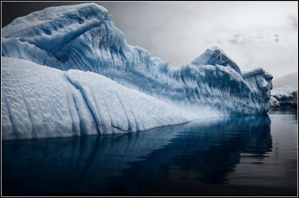 Фото айсбергов Камиллы Симен: чертоги Ледяной Королевы