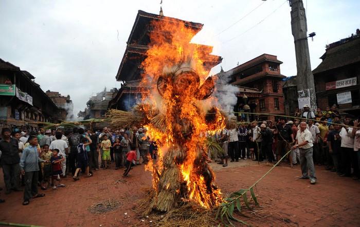 Индийские фестивали: Ганта Карна. Фото Пракаша Матема