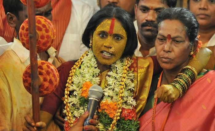 Индийские фестивали: пророческий раж. Фото Ноа Зилама