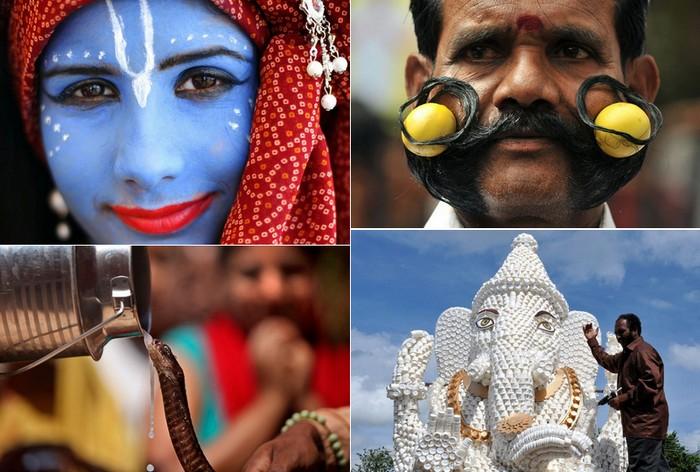 Индийские фестивали лета: яркий фотообзор