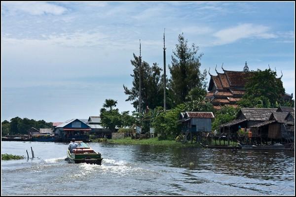 Город на воде в Камбодже: как спастись от жары