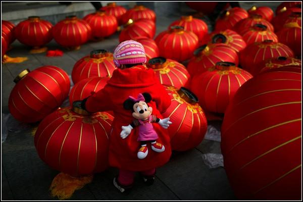 Китайский национальный Праздник фонарей
