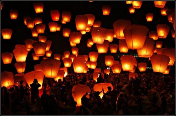Праздник фонарей в Тайбэе