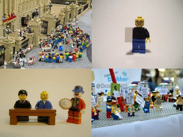 LEGO-человечки подвели итоги 2011 года