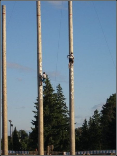 Железные дровосеки: мировой чемпионат лесорубов в Хейворде