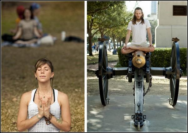 Практика медитации на благо штата