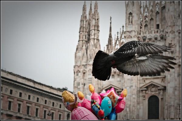 Праздник клоунов в Милане: современный карнавал