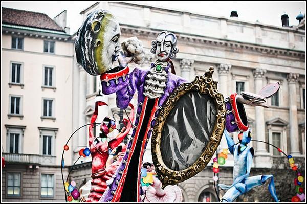 Праздник клоунов в Милане