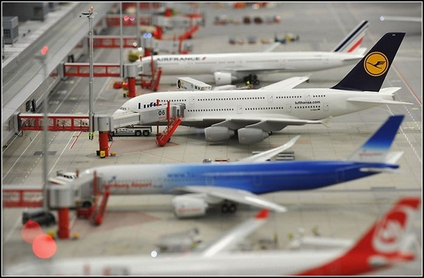 Самый большой аэропорт среди самых маленьких