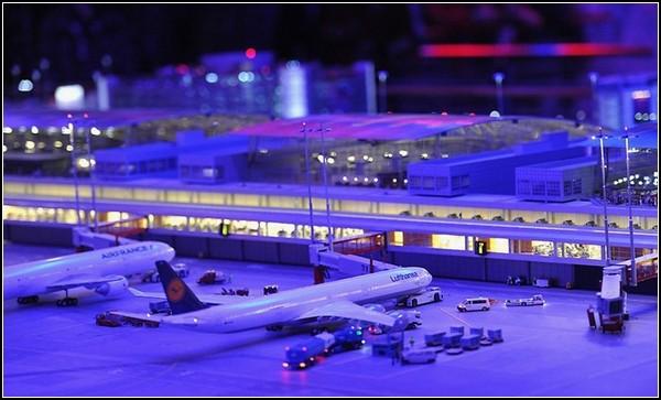 Самый большой аэропорт-миниатюра в Гамбурге