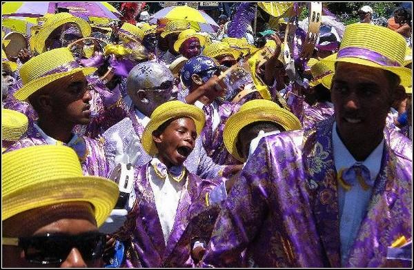 Черные менестрели из Кейптауна
