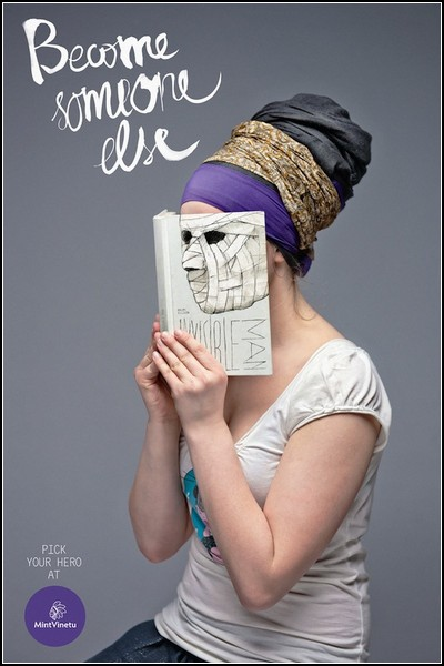 Книжная реклама: портрет читателя Уэллса