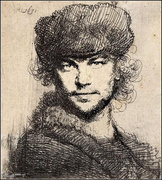 Портреты знаменитостей а-ля Ренессанс. Леонардо ди Каприо от kitsune1920