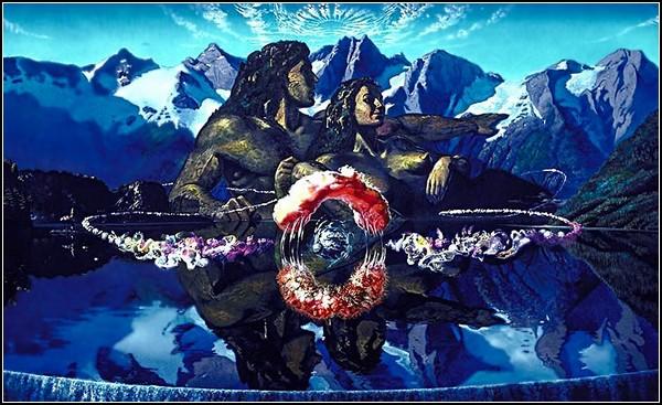 Индейская Америка в картинках: духи и горы