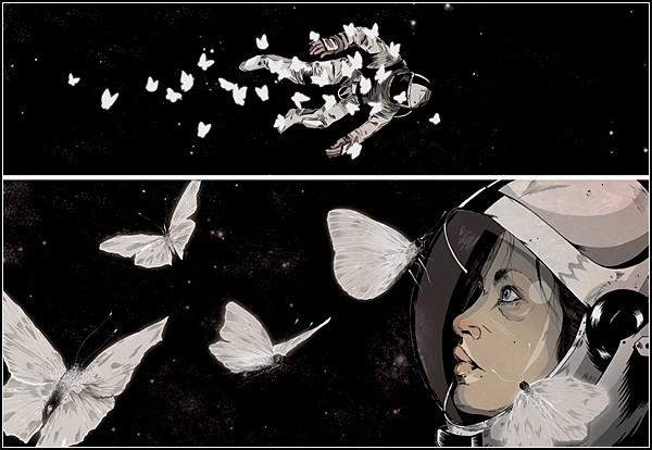 Мастер иллюстрации Александр Уэллс: гротеск и фантастика