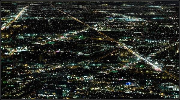 Огни ночного города от Кристиана Штоля