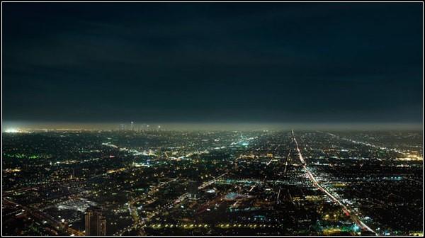 Огни ночного города: световая карта