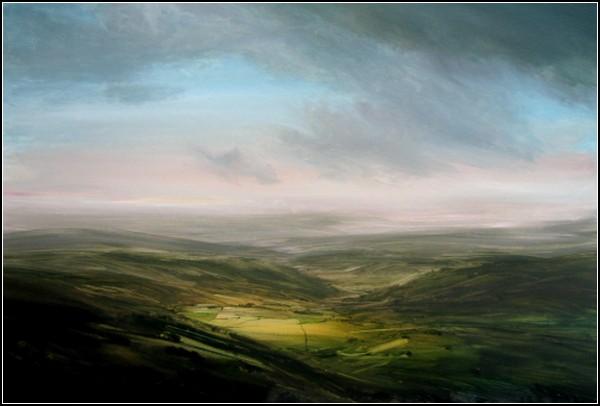 Деревенские пейзажи Джеймса Ноутона: *Сумрачные облака*, 2005