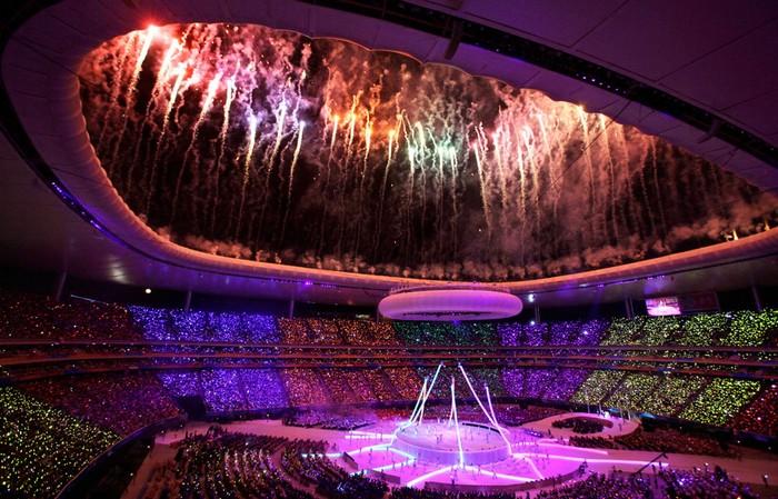 Американский спорт и его кульминация: Панамериканские игры-2011. Фото Хорхе Саэнза