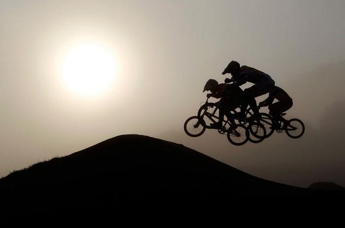 Американский спорт и Панамериканские игры-2011. Велосипедисты. Фото Хосе Гомеса