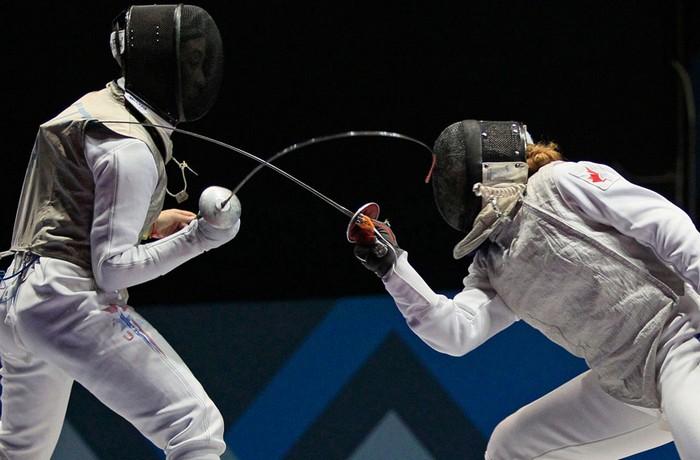 Американский спорт и Панамериканские игры-2011. Фехтование. Фото Арианы Кубильос