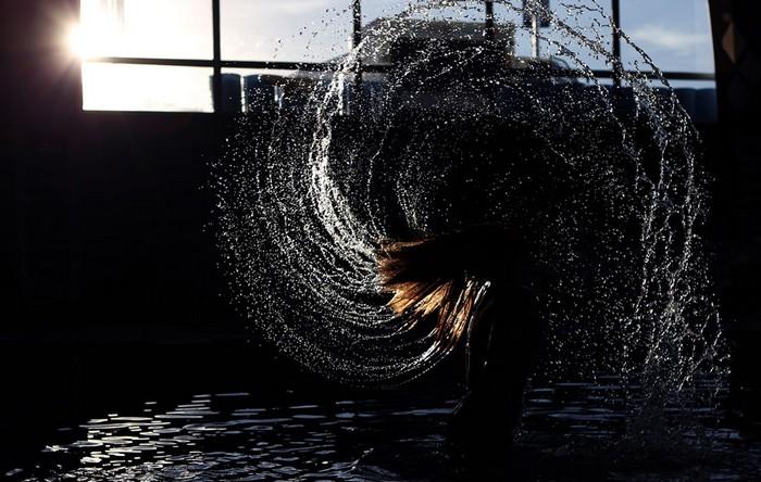 Американский спорт и Панамериканские игры-2011. Пловчиха из США Мишель Маккиэн. Фото Скотта Хэви