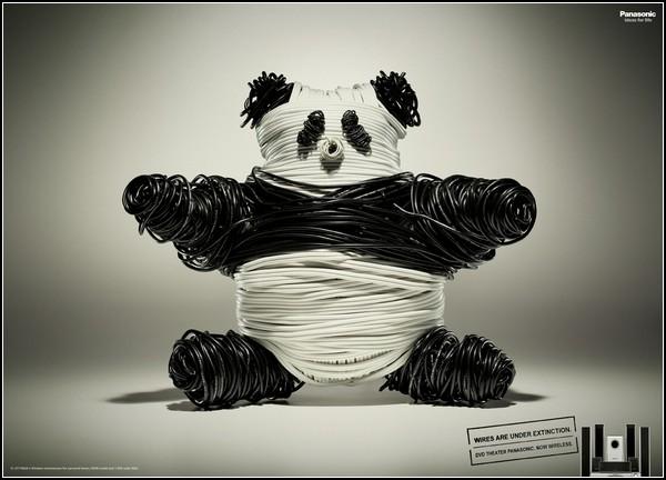 Панда, затаившаяся в рекламе: беспроводной домашний кинотеатр