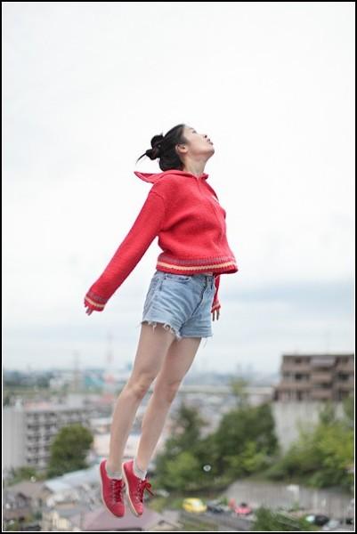 Фото в прыжке: и пусть весь мир полетит