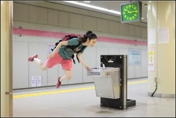 Фото в прыжке: невыносимая легкость Hayashi Natsumi
