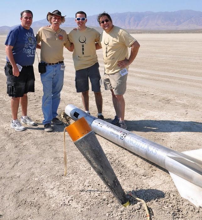 Самодельная ракета: авторы