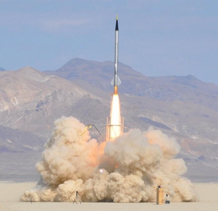 Самодельная ракета Qu8k