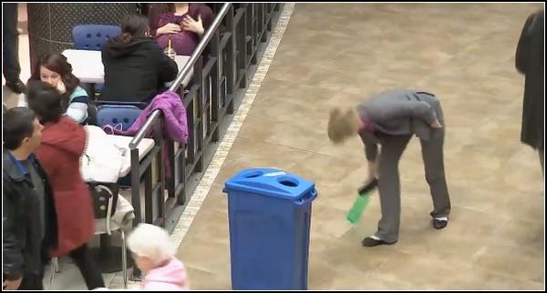 Правила чистоты. Флешмоб в Канаде