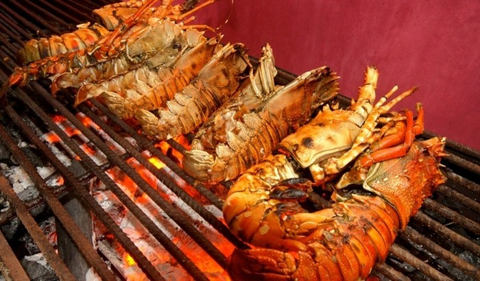 Ресторан морепродуктов на Занзибаре