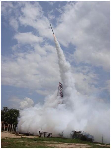 Полеты ракет на фестивале в Таиланде
