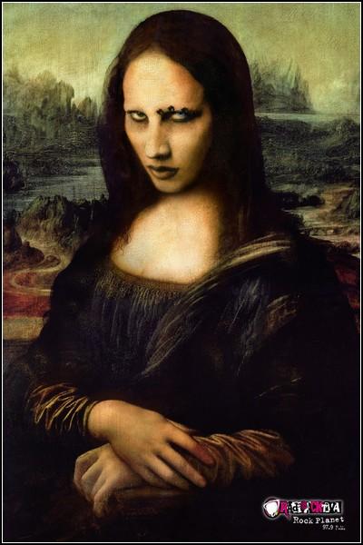 Улыбка Моны Лизы в рекламе: Radioactiva