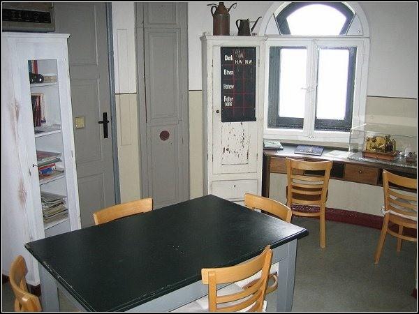 Интерьер гостиницы-маяка: все так же, как сто лет назад