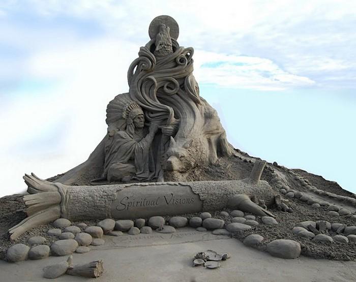 *Божественная комедия: Ад* Данте в песке