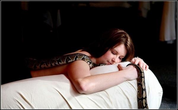 Лечение тяжелыми змеями