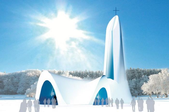 Снежный дом Бога: проект
