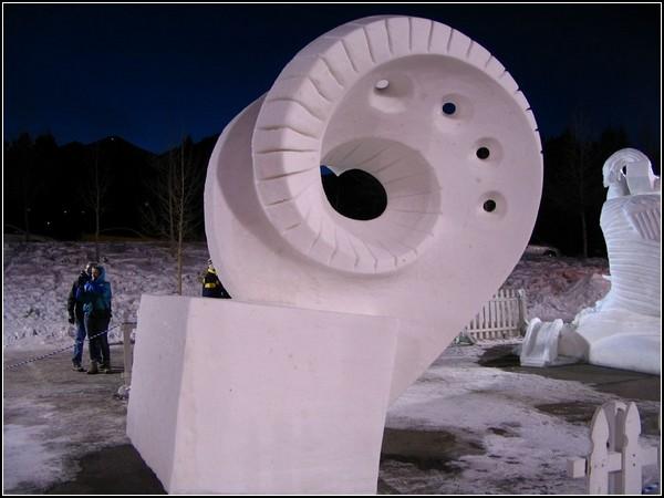 Фестиваль снежных скульптур в Брекенридже