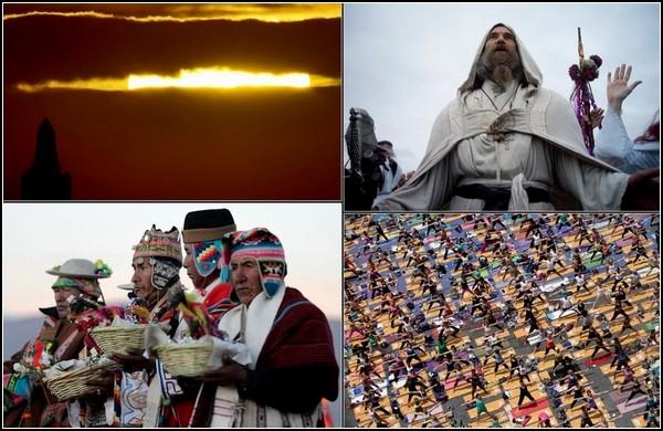 Летнее солнцестояние-2011. Мир приветствует солнце